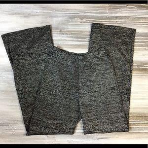 zara trafaluc knitwear sparkle pants